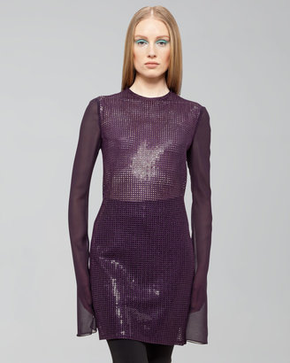 Akris St. Gallen Sequined Dress