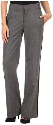 Rachel Roy Side Stripe Pant (Grey Melange) - Apparel
