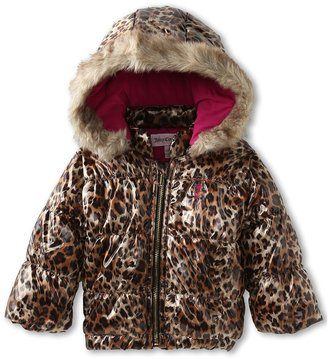 Juicy Couture Outerwear Puffer Jacket (Infant) (Bowle Leopard) - Apparel