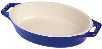 "Staub Oval Dish, 14 1/2"""