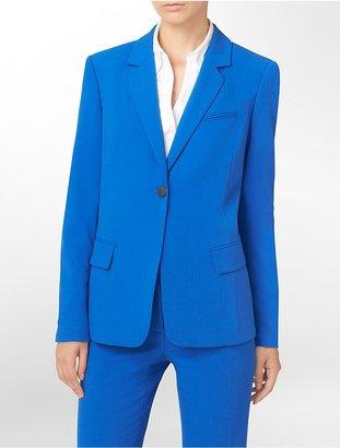 Calvin Klein Button Closure Blazer