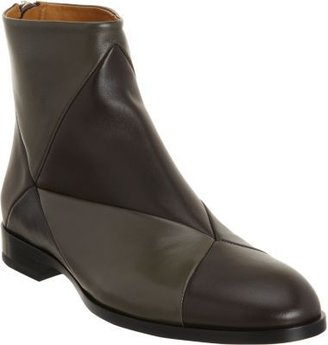 Jil Sander Tonal Patchwork Ankle Boot