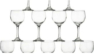 Crate & Barrel Set of 12 Party Wine Glasses