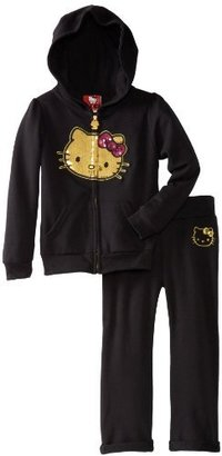 Hello Kitty Girls 2-6X Active Set With Hoodie