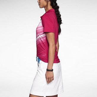 Nike Speed Stripe Mesh Women's Golf Polo Shirt