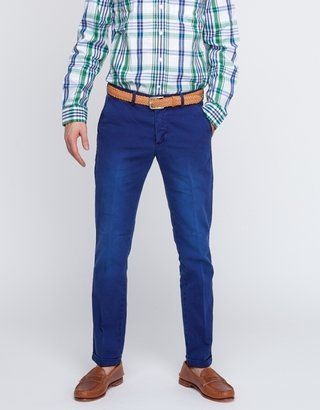 Gant Canvas Chino In Pilot Blue