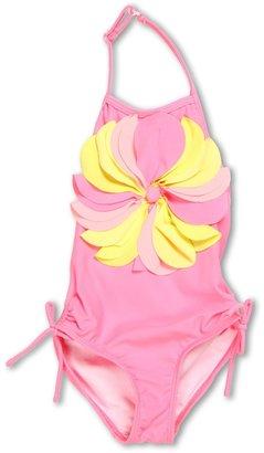 Kate Mack Pinwheel Petals Swimsuit (Toddler) (Pink 2) - Apparel