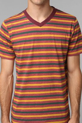 BDG Stripe V-Neck Tee