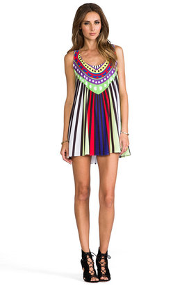 Mara Hoffman Jersey Swing Mini Dress