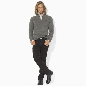 Polo Ralph Lauren Lambswool Half-Zip Sweater