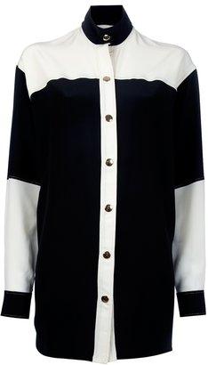 Fausto Puglisi Colour Block Shirt