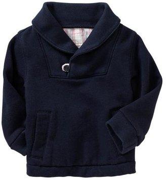 Gap Terry shawl-collar pullover