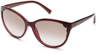 Valentino Scalloped Cat-Eye Frame