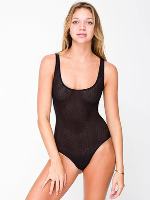 American Apparel Geo Lace Bodysuit