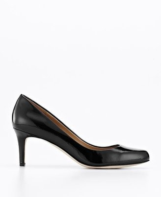 Ann Taylor Perfect Patent Leather Kitten Heels