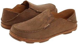 OluKai Moloa (Black) Men's Slip on Shoes