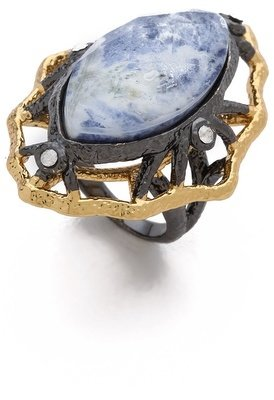 Alexis Bittar Lace Marquis Sodalite Ring
