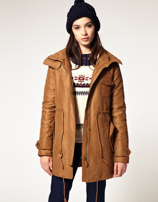 Sessun Deserta Classic Parka with Removeable Lining