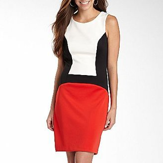 JCPenney Bisou Bisou® Colorblock Dress