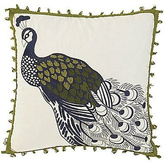 "Waverly Casablanca 16"" Square Embroidered Decorative Pillow"