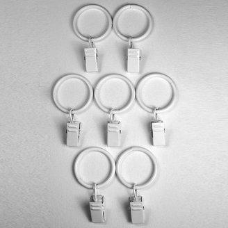 Bcl drapery hardware 7-pk. curtain clip rings