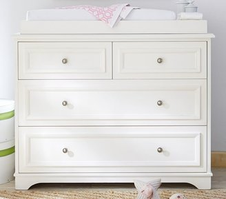 Pottery Barn Kids Fillmore Dresser & Changing Table Topper, Simply White