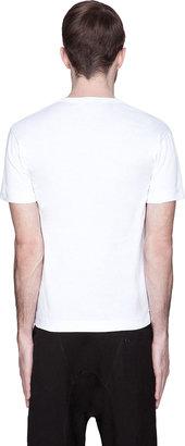 Comme des Garcons White Green Logo T-Shirt
