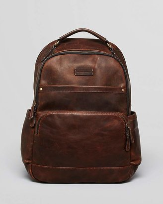 Frye Logan Leather Backpack $448 thestylecure.com