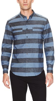 Rogan Kaleff Striped Sport Shirt