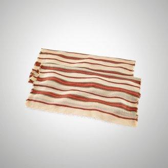 Ralph Lauren Candice Striped Linen Scarf