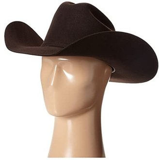M&F Western Santa Fe (2X Select Wool Chocolate) Cowboy Hats