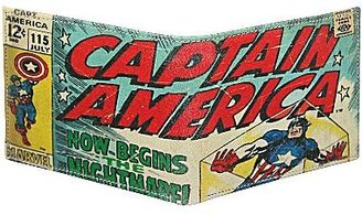 JCPenney Captain America Passcase Wallet