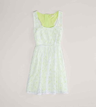 American Eagle AE Floral Lace Dress