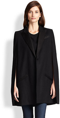 Haute Hippie The Coven Wool Trench Cape