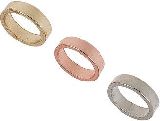 Topshop Plain band midi rings