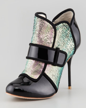 Webster Sophia Amis Holographic Mermaid Bootie