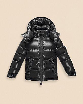 Moncler Boys' Maya Shiny Classic Puffer Coat - Sizes 8-14