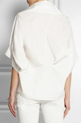 McQ by Alexander McQueen Deconstructed cotton shirt