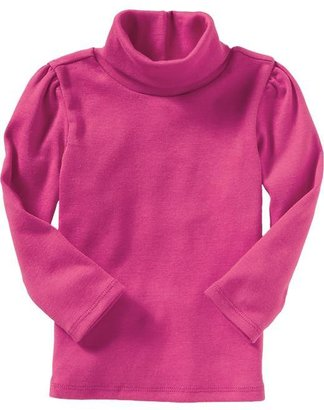 Old Navy Ruched-Jersey Turtlenecks for Baby