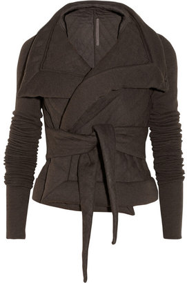 Rick Owens LILIES quilted jersey jacket
