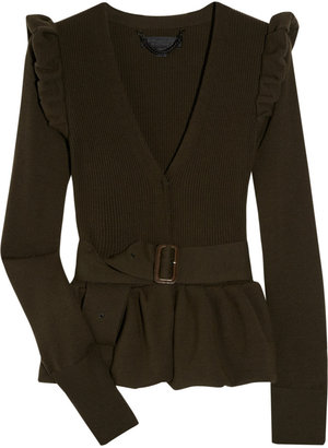 Burberry Merino wool-blend cardigan