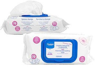 Mustela Cleansing & Soothing Wipes for Diaper Change