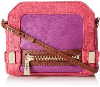 Botkier NY Honore Cross Body Bag,Magenta,One Size