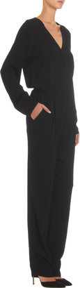 Twelfth St. By Cynthia Vincent by Cynthia Vincent Crossover Front Long Sleeve Jumpsuit