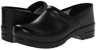 Dansko Professional Box Leather Men's (Black Box) Men's Clog Shoes