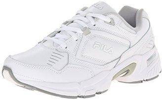 Fila Women's Memory Comfort Trainer Slip Resistant Work Shoe $60 thestylecure.com
