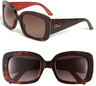 Christian Dior 'Ladylady 2' 53mm Square Sunglasses