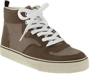 Old Navy Boys Color-Block Canvas High-Tops