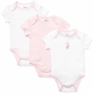 Little Me Baby Girls Bodysuits 3-Pack
