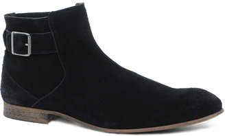 Asos Chelsea Boots With Zip and Buckle